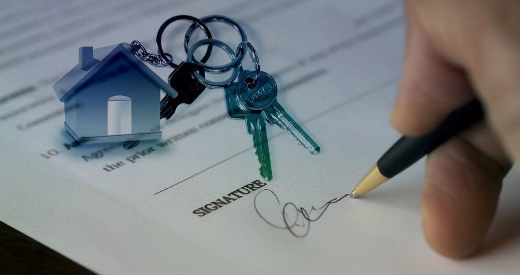 signer un mandat avec una agence immobilière - prix agent immo cher