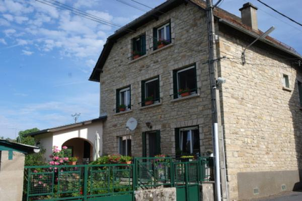 Large, recently renovated, sunny village house for Sale in South East France, ideal for B&B or combination living and work at home.