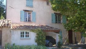 Authentic Mas Provençal with pool and garden in village center