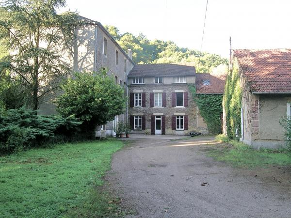 For sale in France this ancient watermill with great potential in the Vallée de Cousin