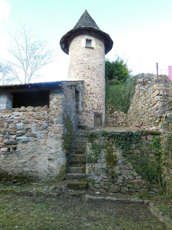 Beautiful 16th century building with tower, close to the Dordogne River