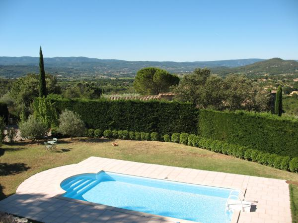 Birds'eye view on the Luberon!!