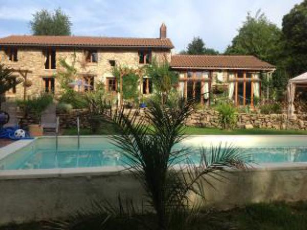 French Country Farmhouse and Apartment, Pool, Land and Outbuildings