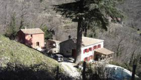 Hamlet with renovated silk farm, holiday home and pool