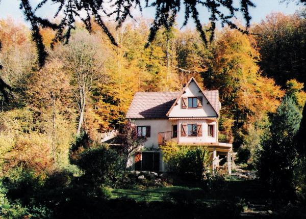 Idyllic Burgundy property for sale with 7000m2 park-like garden and stream