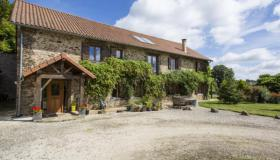 Immaculate Barn Conversion with 6.4ha, gîte & pool