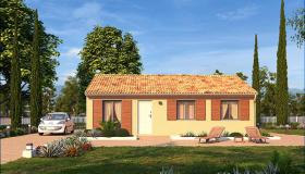 Newly built bungalow in the sunny Vendee