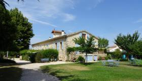 Characteristic Provencal house with well running B&B and gites near Sisteron