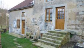 Renovated period house for sale in France with geothermal heating
