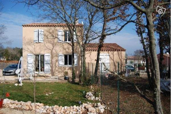 New house with two apartments in the south of France