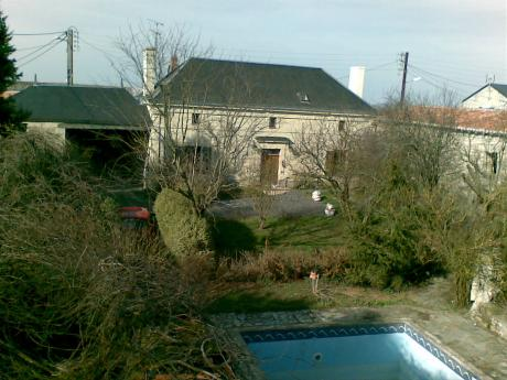 Old wine growers house 1850AD with swimming pool