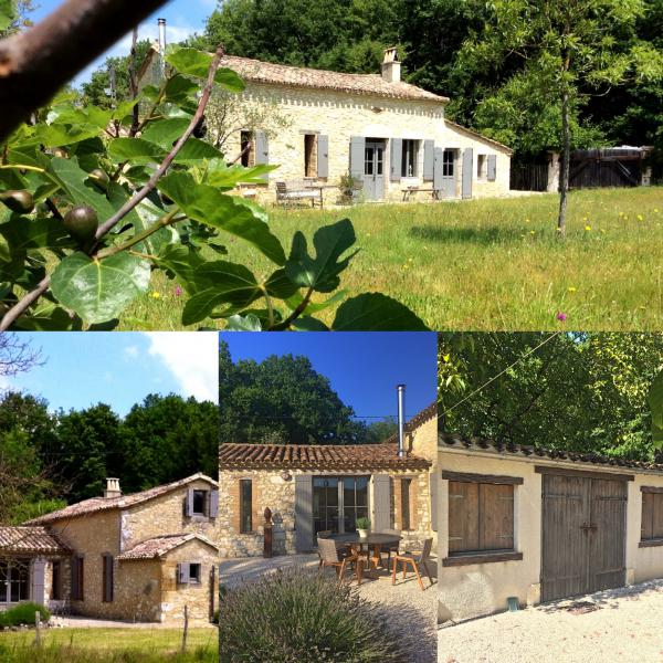 For Sale in Dordogne a renovated stone tobacco shed dating from 1880 with pool