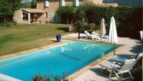 Beautiful natural stone Provencal mas with pool