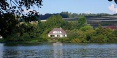 Splendid Villa in France for sale with view on a lake, 6 miles from the sea