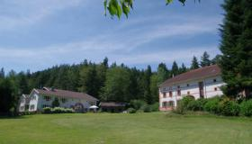 Two renovated farm houses with 4 gîtes and private house on 2.2 ha (5.4 acre) terrain with private lake and well