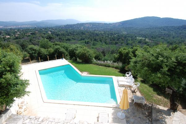 Views of Golfe de St. Tropez! Stunning villa.