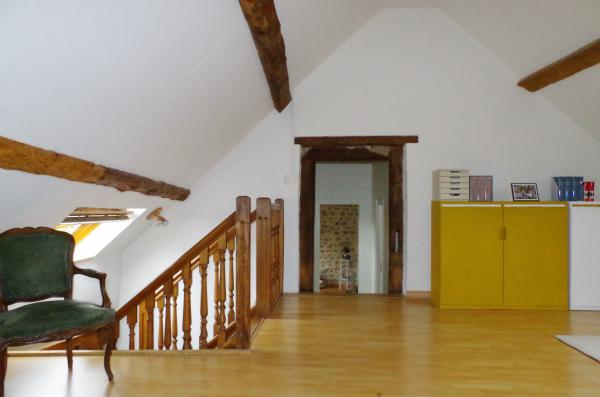 For sale authentic farmhouse with b b barn and stables - Plafond a la francaise ...