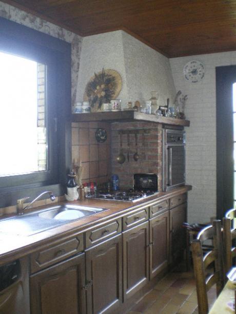 Vendre maison style fermette - Cuisine style fermette ...