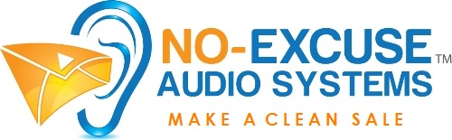 logo No Excuse Audio System Property Sales support