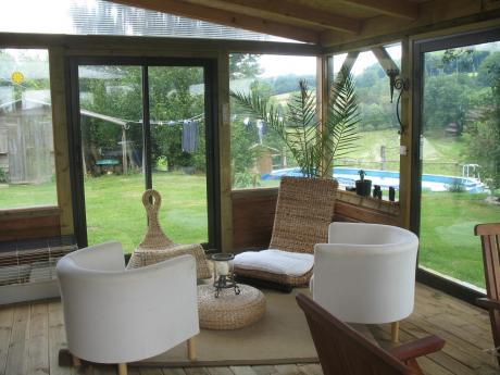 Te koop huis op n hectare midden in de natuur - Deco badkamer natuur ...